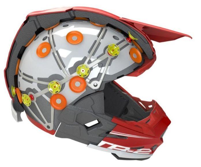 6D Helmets ATR-2 Helmet cutaway
