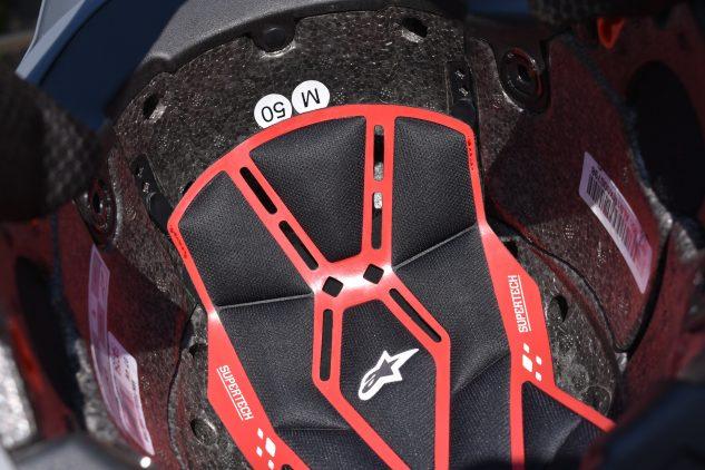 Alpinestars supertech S-M10 Helmet A-Head System