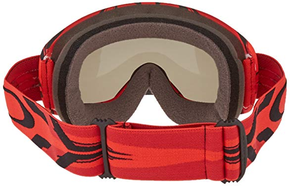 Triple layer goggle face foam