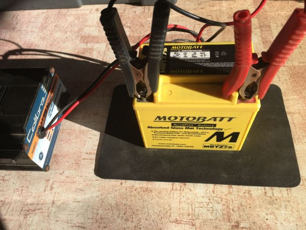 Dirt Bike battery charging