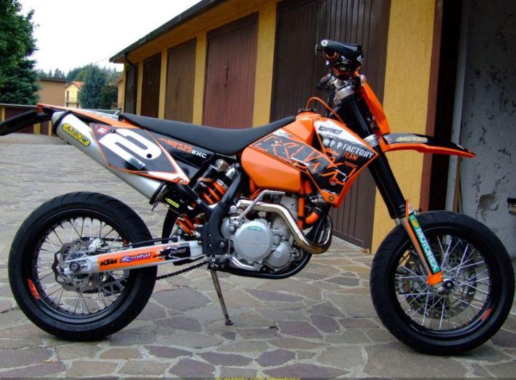 KTM525EXC Supermoto