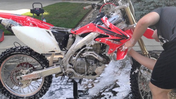 How To Wash Your Dirt Bike