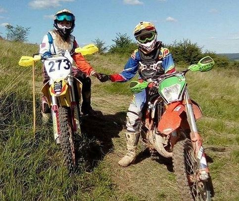 Dirt Bike couple