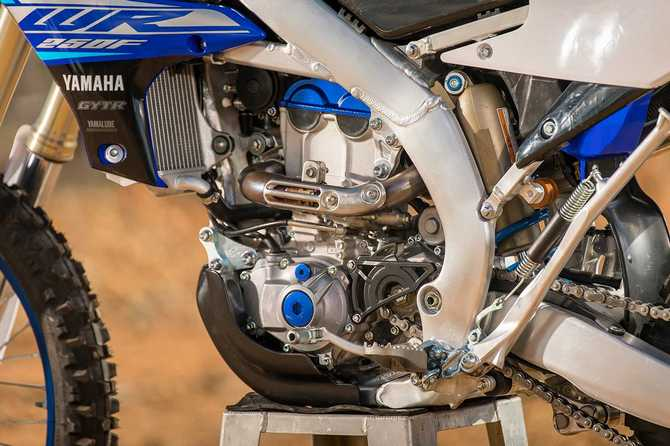 2020 Yamaha WR250F engine