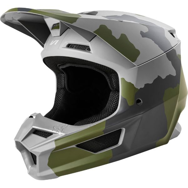 Fox Racing V1 Kids helmet Camo