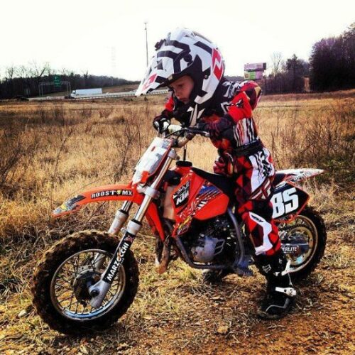 Kids dirt bike gear