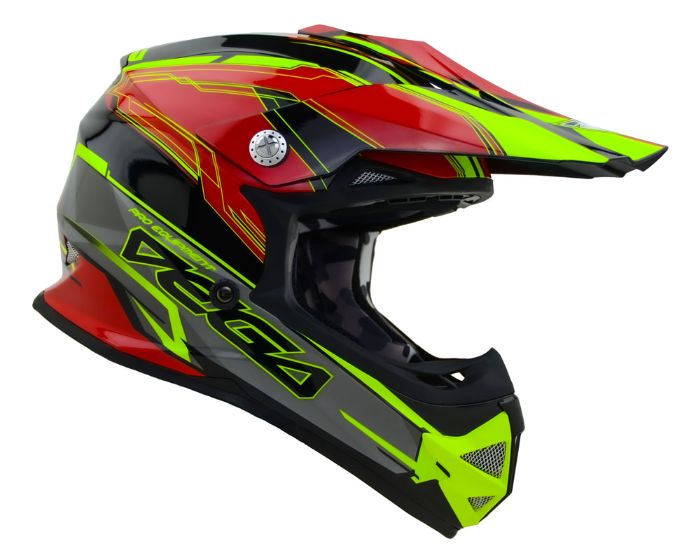 vega helmets unisex-child youth off road helmet