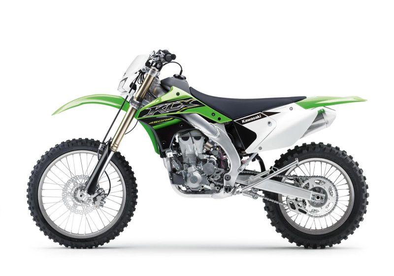 Kawasaki dirt bike brand