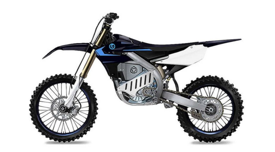 Yamaha electric motocross bike YZ250F