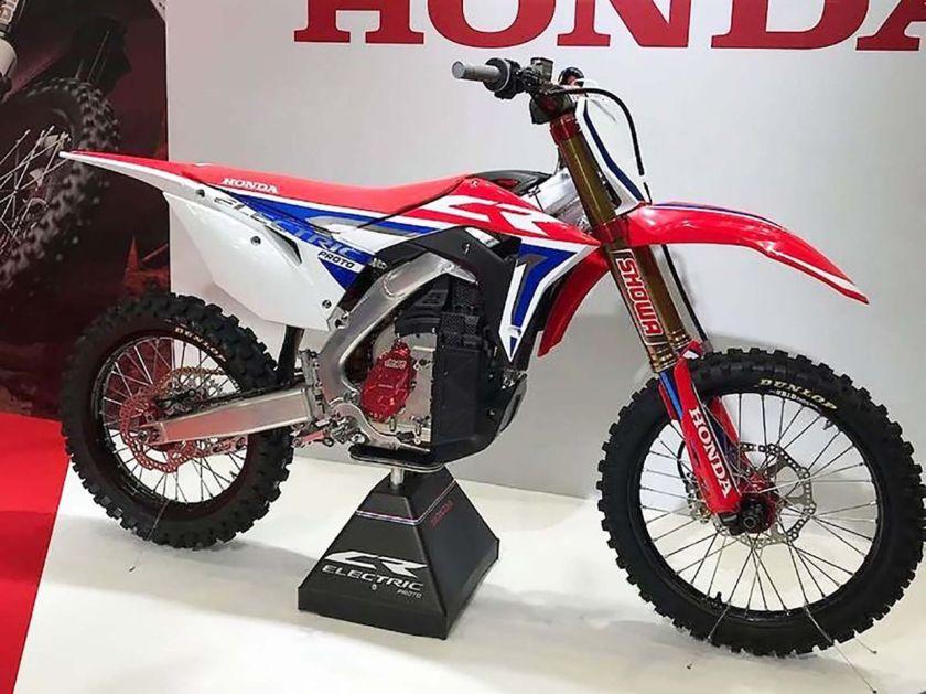 Honda CR Electric dirt bike prototype