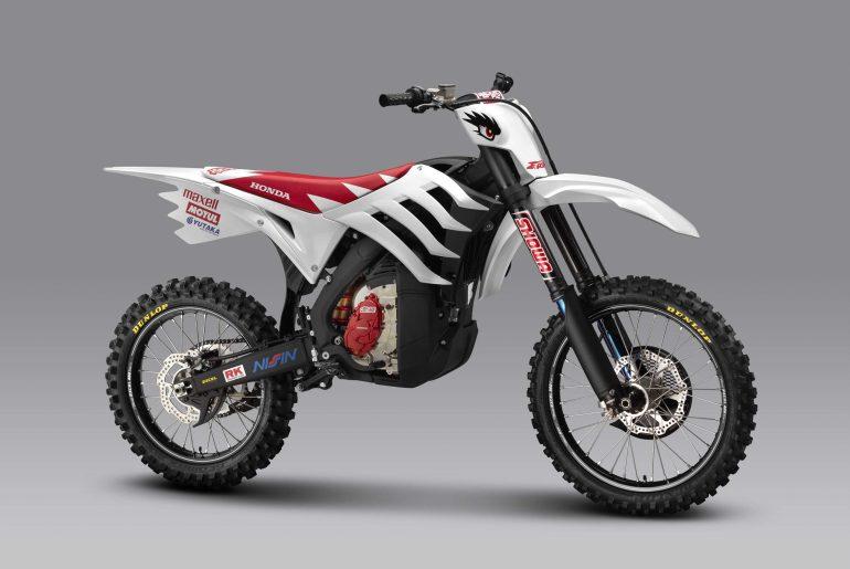 Mugen E.Rex electric dirt bike prototype
